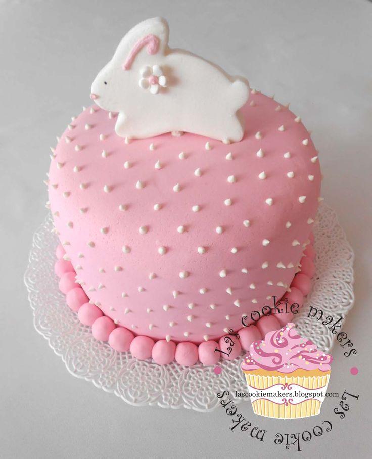 BABY SHOWER CAKER  FIRST YEAR BIRTHDAY CAKE FOR GIRLS BABY GIRL CAKE TORTA  BEBE NENA   lascookiemakers@gmail.com