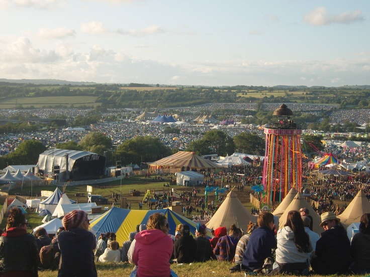 Glastonbury Music Festival-everyone should try it once