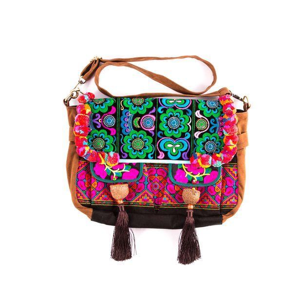 Boho embroidery & tassels