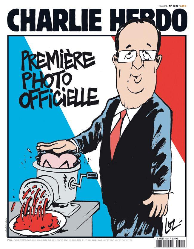 Hollande Président selon Charlie Hebdo