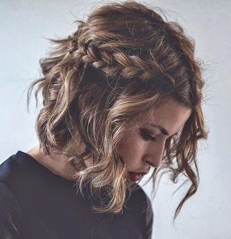 17 Flechtmuster auf kurzen Haaren für den Rücken lernen