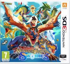 juego 3ds monster hunter stories