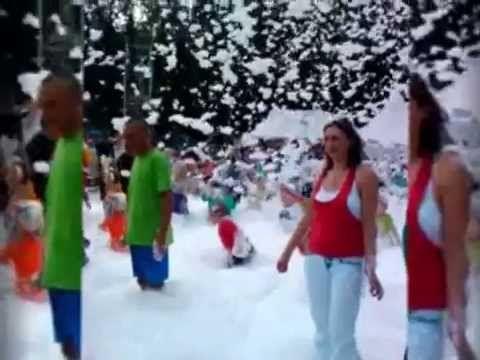 Детская пенная вечеринка ( в парке)