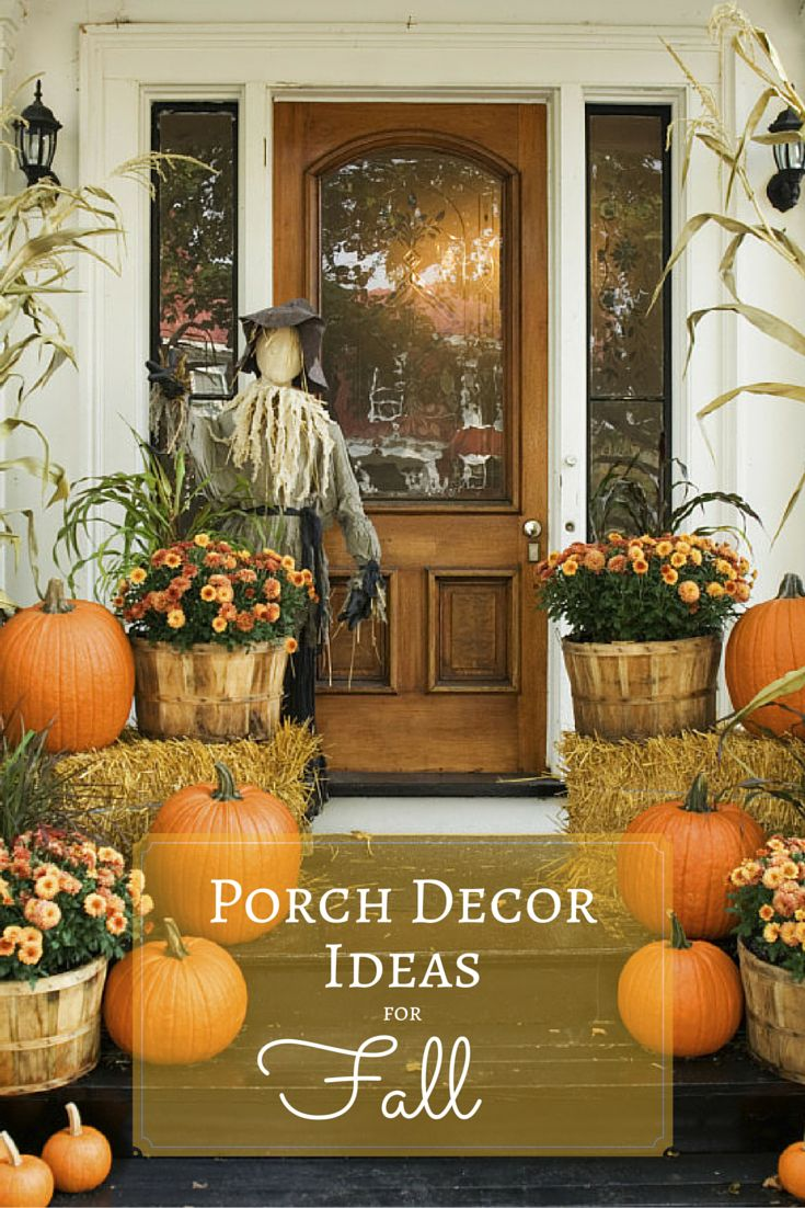 Easy outdoor fall decorating ideas - Celebrate Autumn With These Festive Fall Porches And Patio Ideas Http