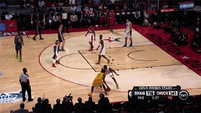 Kyrie Irving crossover on Brandon Knight. WTF is that haha bro you good