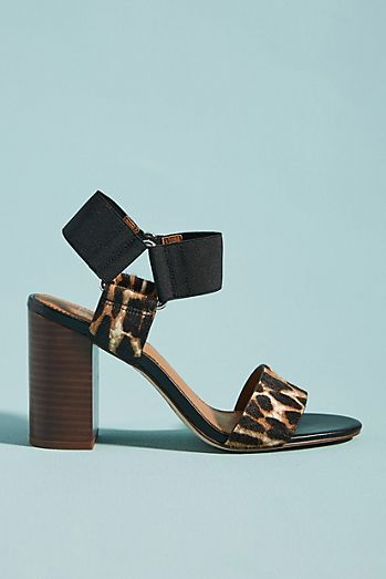 54a8281d6e4c Anthropologie Sarto by Franco Sarto Olivia Printed Heeled Sandals ...