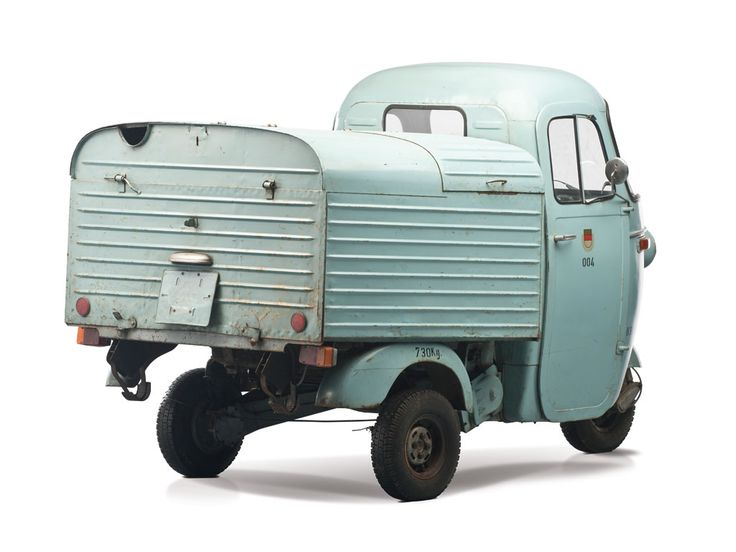 1963 Vespa Ape | The Bruce Weiner Microcar Museum 2013 | RM AUCTIONS