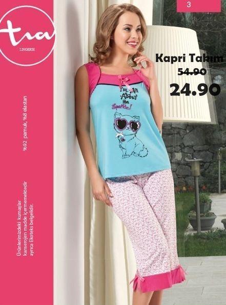 Bayan Kapri Takımı 1275 http://www.pijama.com.tr/tia-pijama #bayankapri #kapritakım #kapri #yaz #yenisezon