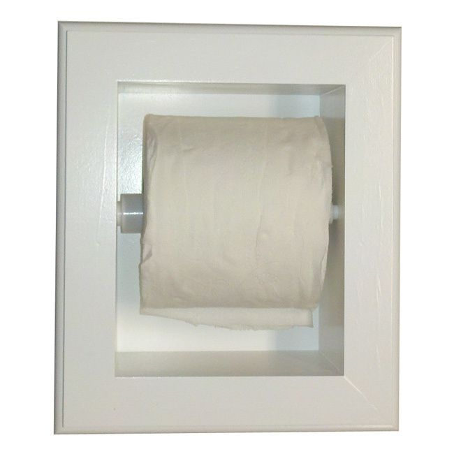 wg products deltona series xl recessed toilet paper holder