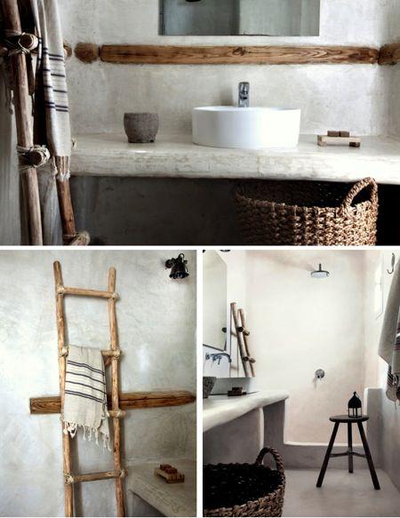 httpnaturalmoderninteriorsblogspotcomau eclectic natural bathroom ideas - Eclectic Bathroom Interior
