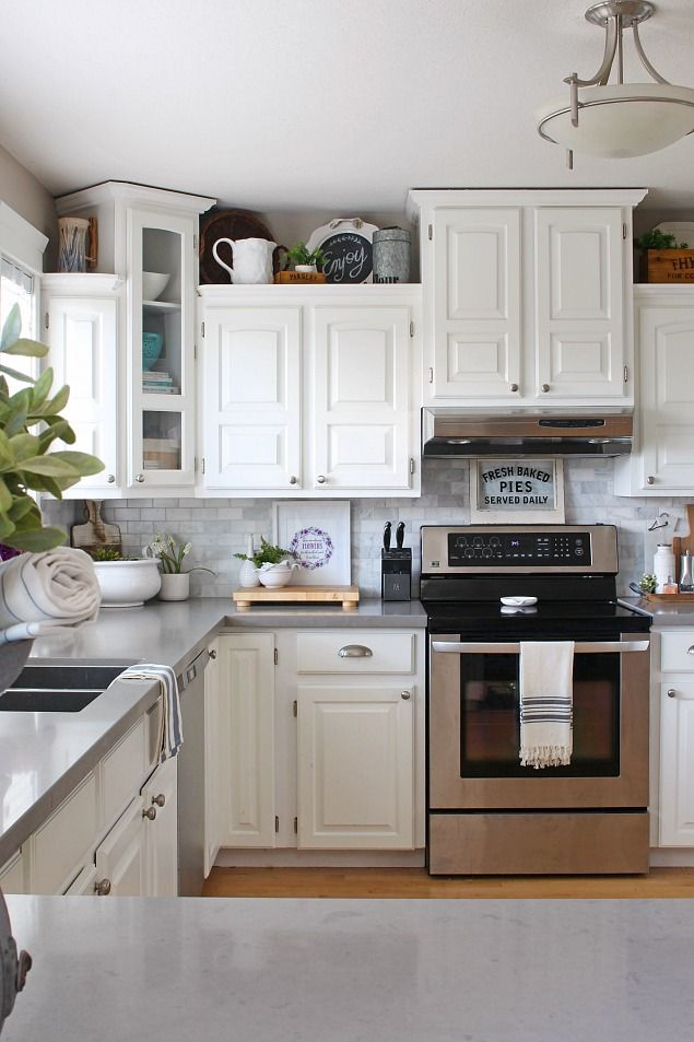 Spring Home Tour Spring Kitchen and