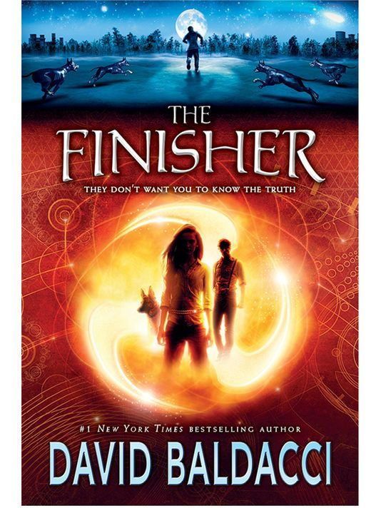 The Finisher - David Baldacci, Scholastic Press. http://audiobookjungle.com/