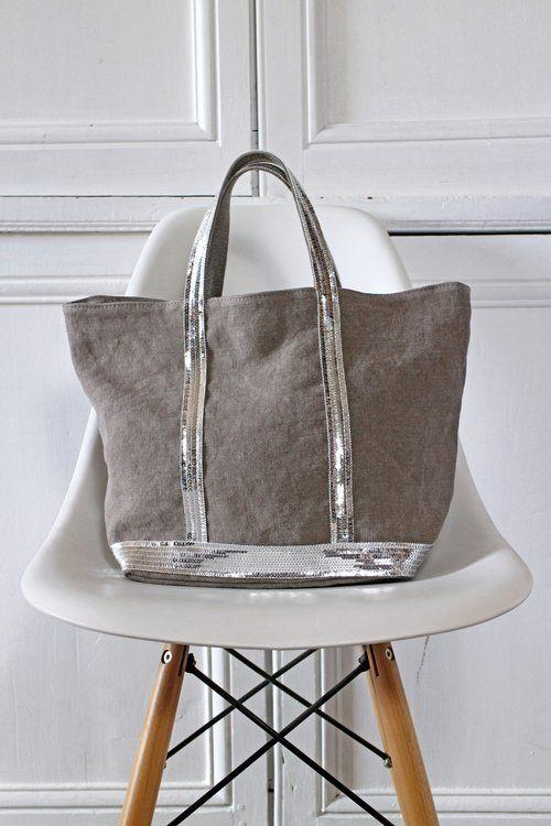 Le sac cabas en lin Vanessa Bruno collection hiver 2016/2017 :)