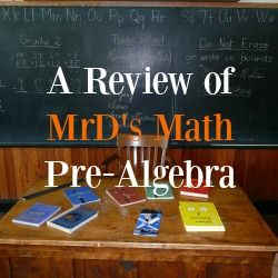 """Mid Semester we switched from Saxon to MrD Math and I am so glad we did! Did you know math is a language and once you learn that language it is a breeze. A very understandable breeze in fact! But don't take my word my 12 year said """"MrDMath  makes difficult math concepts simple"""". This is my review of Mr D Math! - http://bit.ly/21eA0PH"""