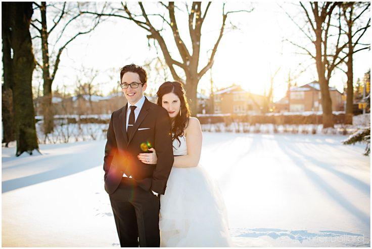 Shari & Zach | Toronto Winter Wedding Wear it Again » Jennifer Ballard Photography