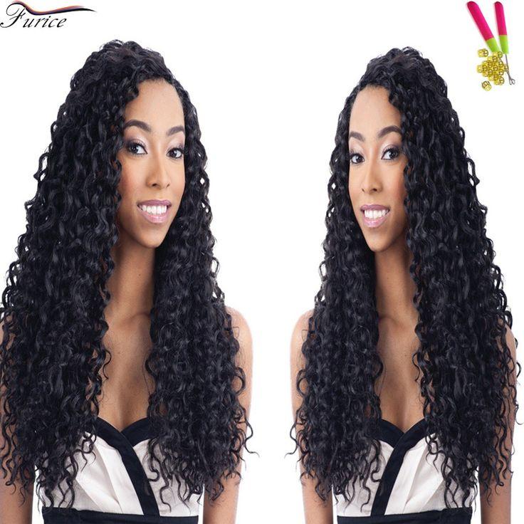 """Hot Beauty Hair Freetress Deep Twist Crochet Braid Hair 18"""" Afro Braiding Hair Extension Havana Senegalese Twist Hair Extension"""