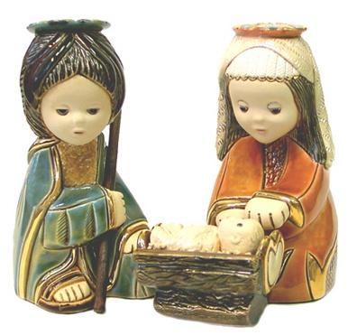 Asian Nativity