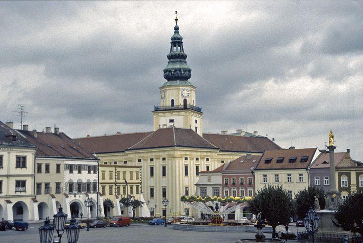 Kromeriz central square