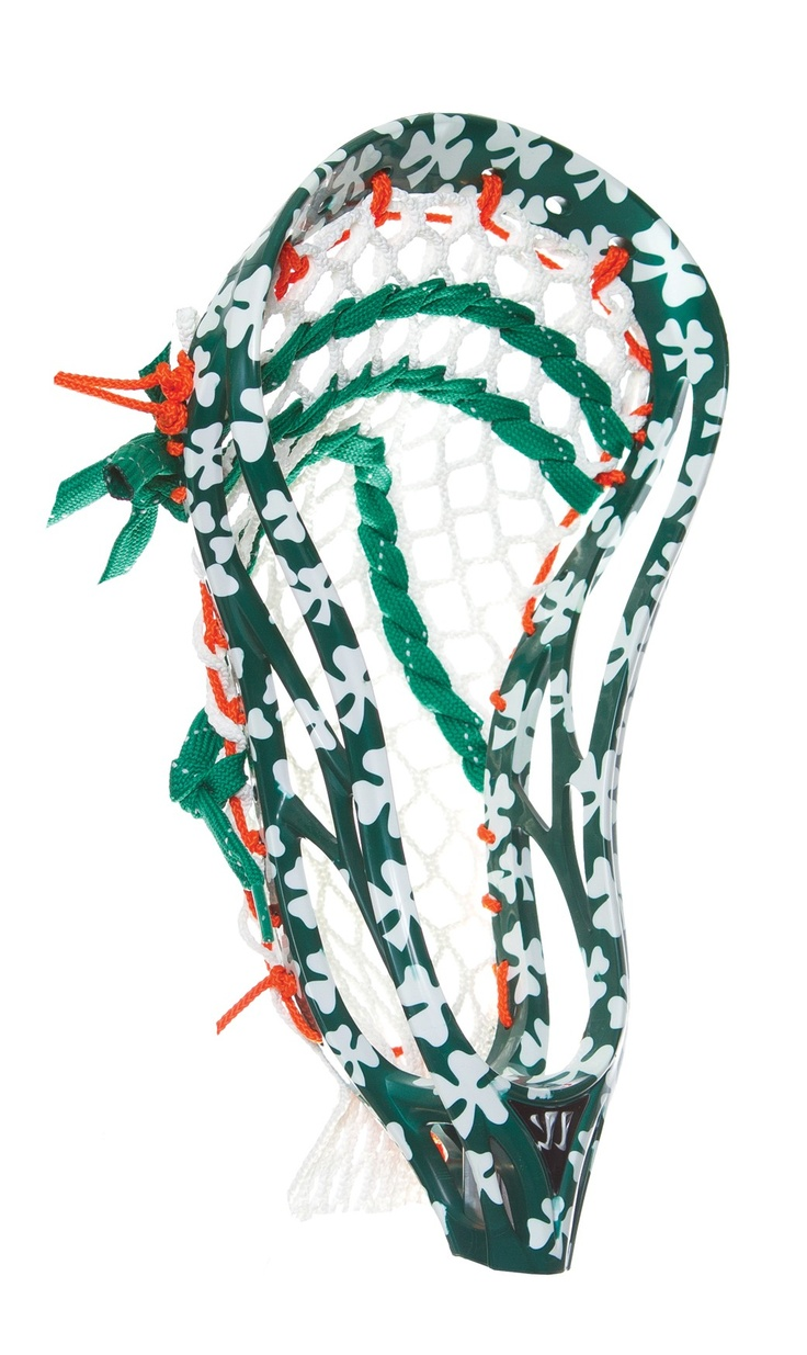 Lacrosse Unlimited Exclusive Custom ULTRA Shamrocks dye available on most lacrosse heads --- Visit the following link for more info: http://lacrossedevprogram.actchangetransform.com
