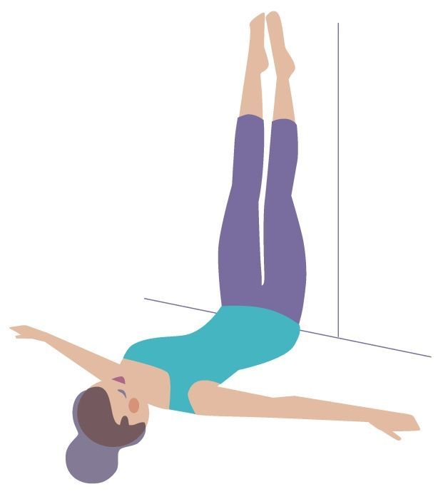 757 best health images on pinterest fitness exercises for Floor yoga stretches
