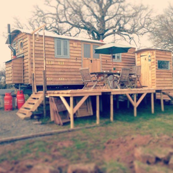 The Home-stead Wagon Tiny House - bigger than a vardo of course but it has a lot of useful elements.