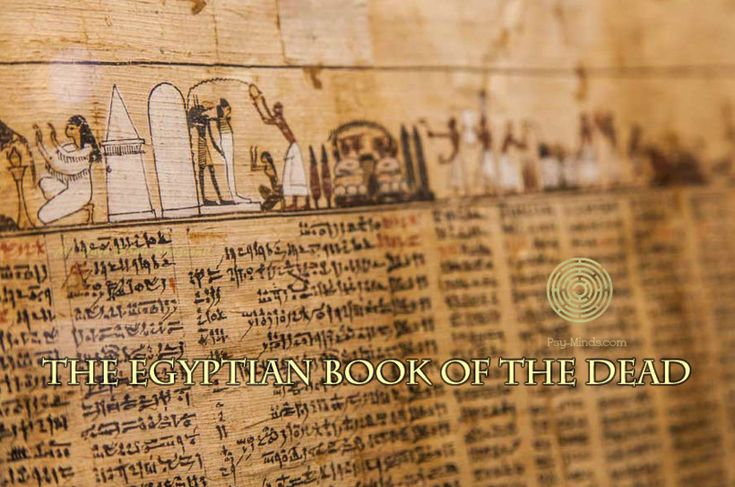 The Egyptian Book of the Dead | via #psyminds | psy-minds.com