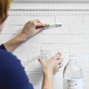 Caustic ingredients in concrete, drywall, and other building materials can cause painful skin irritation. If you handle them often, rinse your hands with a mixture of 1 part vinegar to 2 parts water before washing up—the acid neutralizes their alkaline content.