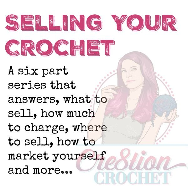 One of the things crocheters face when deciding to turn their hobby into a business is HOW to sell their work. What should I sell?  How much should I sell it for?  Where should I sell my goods?  How do I advertise or market myself? I had the same questions when I first started out selling my crochet.  I [...]