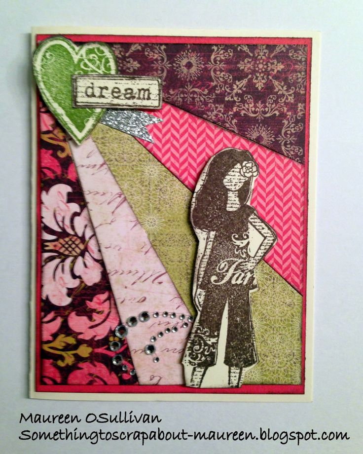 Let's Give 'em Something to Scrap About!: CTMH Card-- 'Dreamer' with Ivy Lane