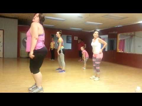 """ALL About The Bass"", By Megan Trainor: Zumba routine, choreo by jennifer scalf - YouTube"