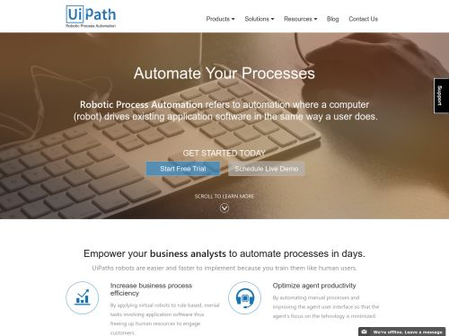 UiPath: Robotic Process Automation Software