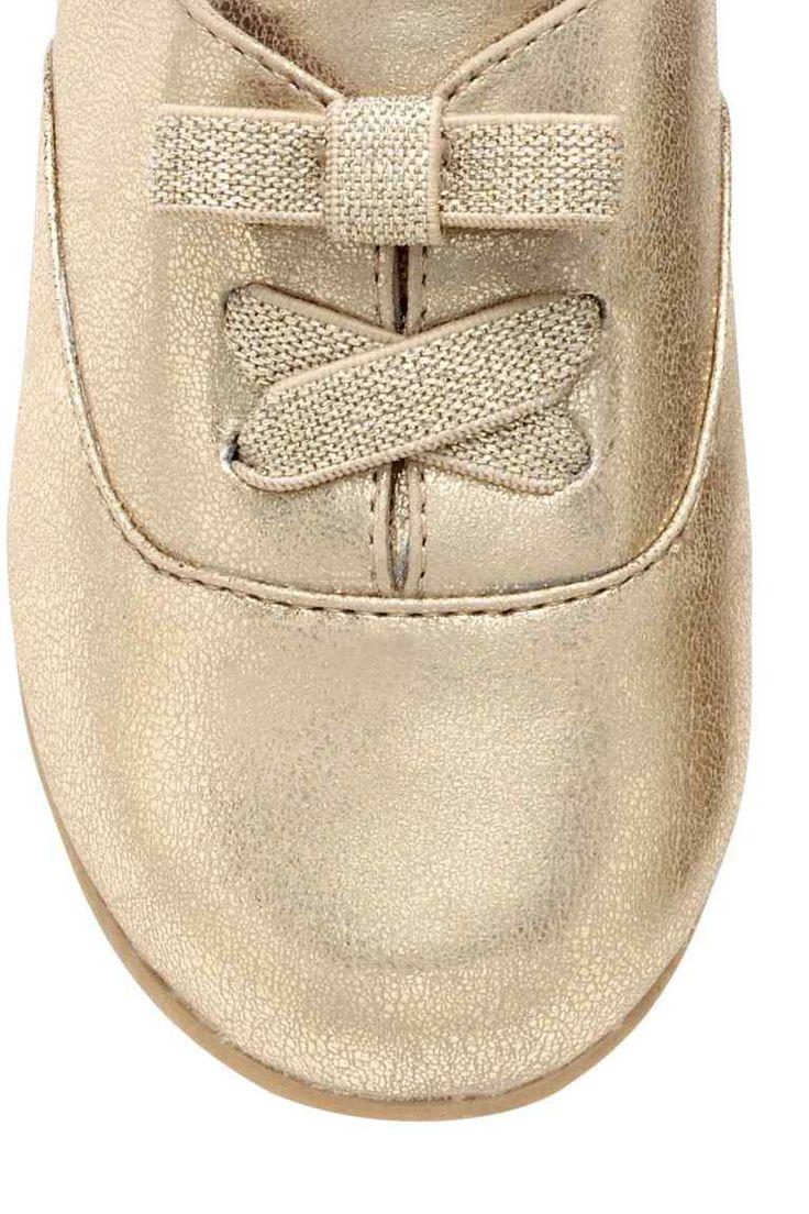 Ballet pumps with lacing   H&M