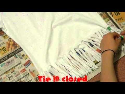 DIY: Beaded Fringe Shirt