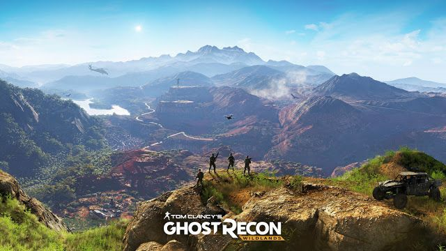 Game Engine: GHOST RECON: WILDLANDS BRINGS A NEW THRILLING TRAI...