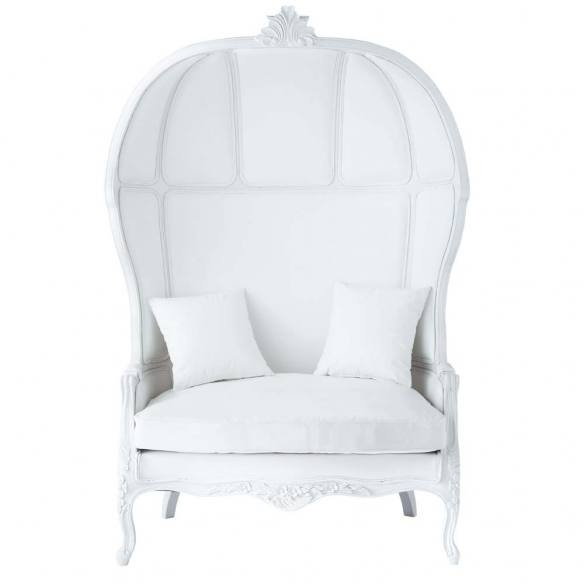 Maisons du Monde Carrosse sofá sillón decoración decoration color blanco white miraquechulo