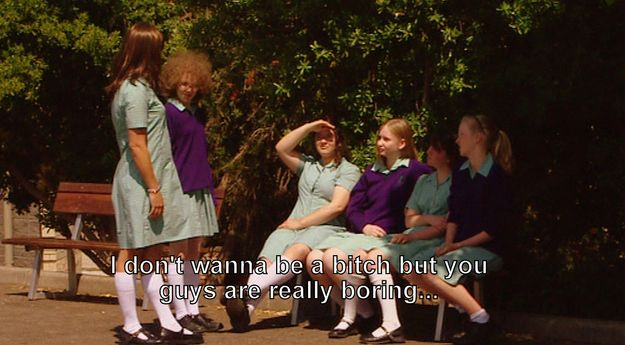 When she's wasn't afraid to be honest with her girlfriends: | 22 Times Ja'mie King Was The Most Real And Inspiring Person On Television