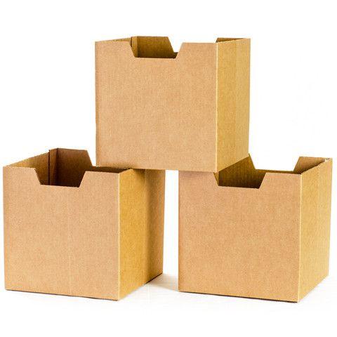 Cardboard Kids Storage Bins
