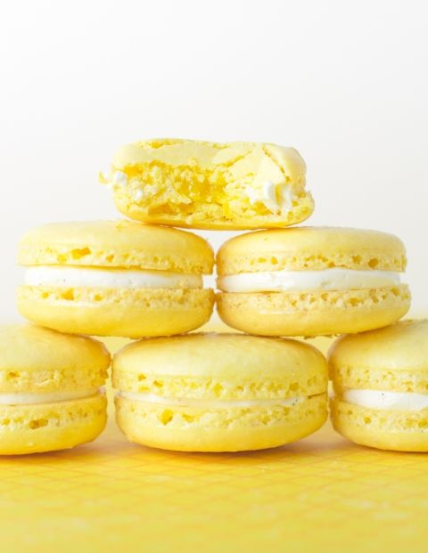 Meyer Lemon Macarons | Sweet things. | Pinterest | Lemon, Macaroons ...