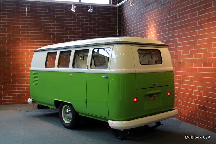 I really don't want a pull behind camper, but this one could change my mind   Dub-Box USA  