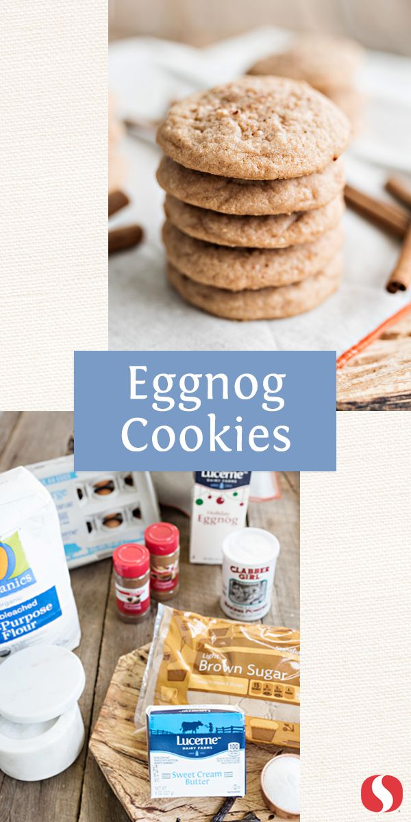 These delicious Egg Nog Cookies are the perfect addition to your cookie plate this holiday! This dessert only takes 1 hour to make and is the ultimate christmas cookie! Pro tip: add extra nutmeg for garnish.