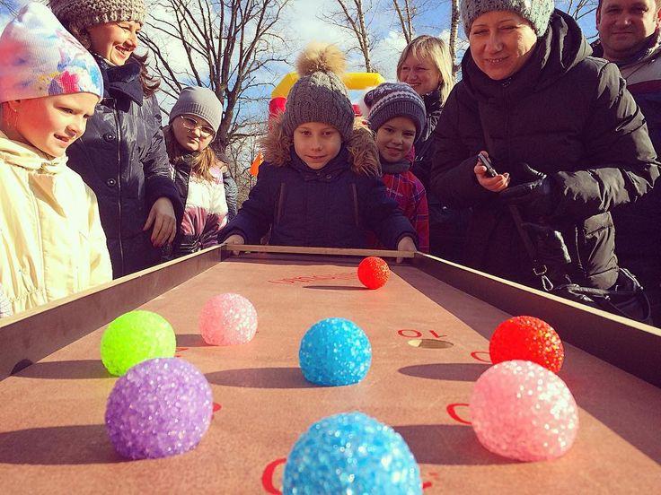 Провожаем зиму с аттракционами! Солнце хорошее настроения и 22 интерактивных аттракциона для гостей в городского парка!