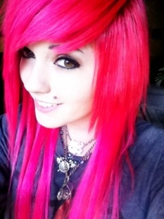 Leda Monster Bunny <3 Her youtube is so awesome. Her hair is colorful, she is a sweet person and really funny.