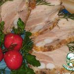 Грудинка свиная «Варено-копченая»