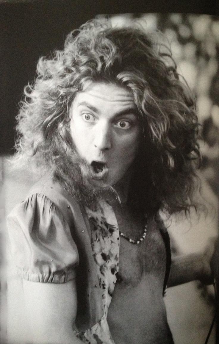 Robert Plant looking very surprised indeed.