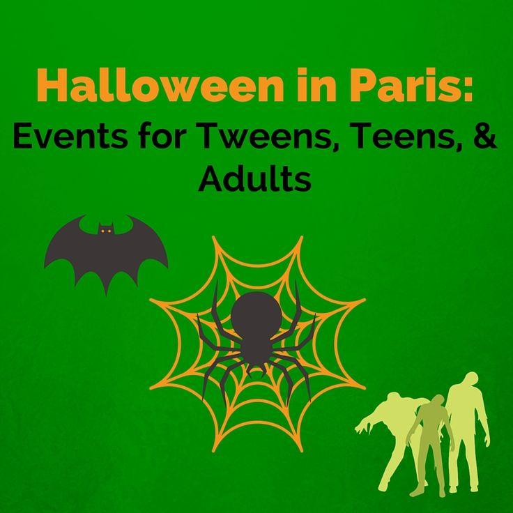 Halloween in Paris: Events for Tweens, Teens, & Adults — Gluten Free Family Travel #Paris #Halloween #HalloweeninParis #travel