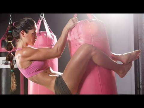 Michelle Lewin workout, part 2 - YouTube