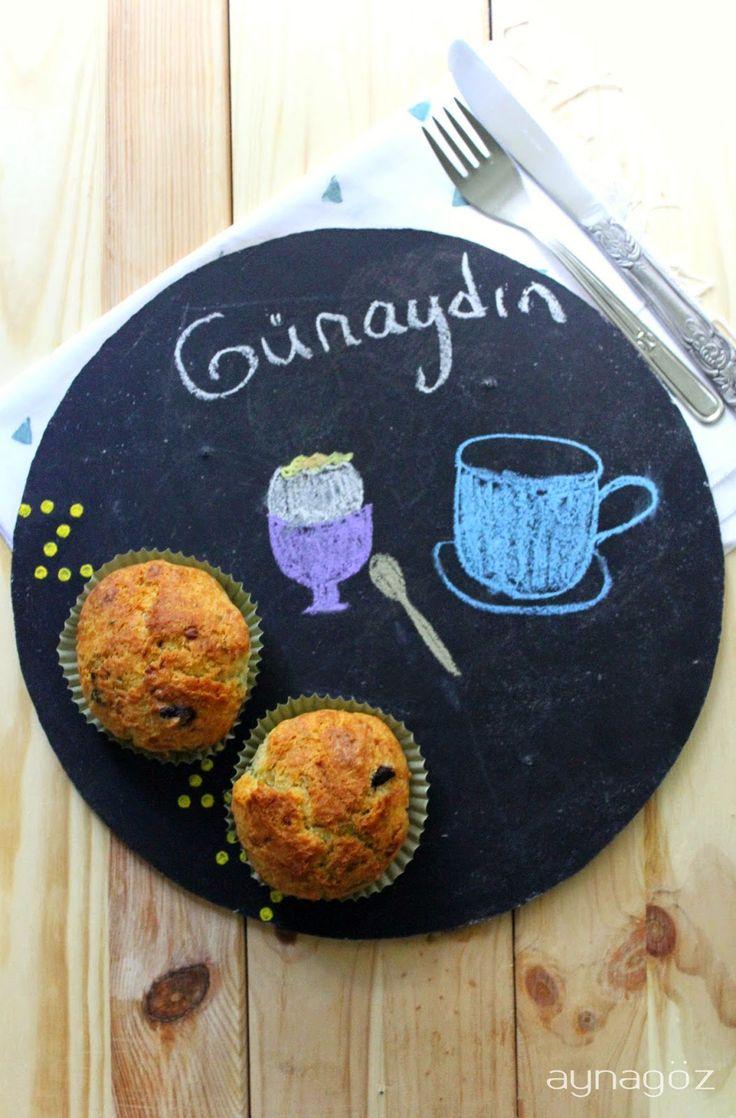 AynaGöz.: Kahvaltı Keki, Tuzlu Mini Kekler, Zeytinli, Peynir...
