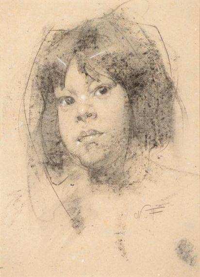 Nicolai Fechin, Indian Girl