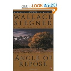 Angle of Repose by Wallace Stegner . . . love the reviews with this one . . .