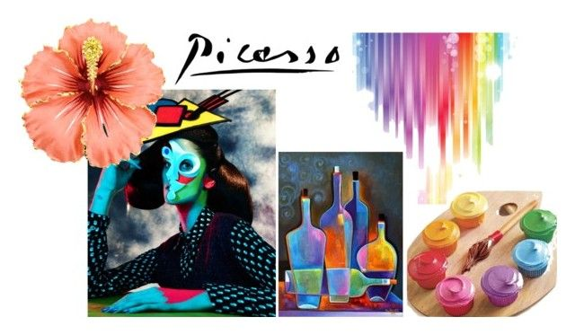 """""""picasso"""" by deveneey-nnman on Polyvore featuring mode"""